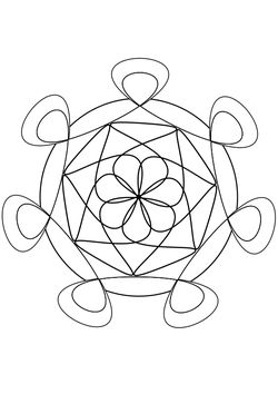 Mandala 2  Coloring Pages for kids