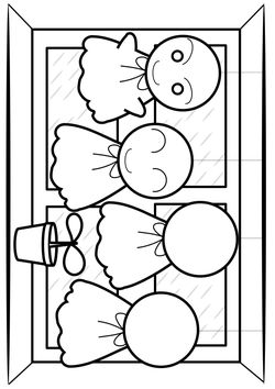 There Coloring Pages for kids