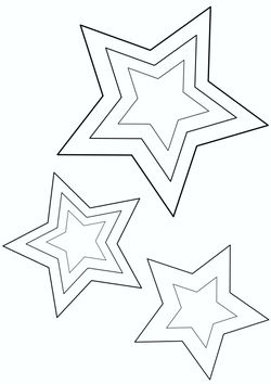 Star 1 free coloring pages for kids