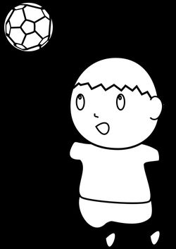Football 2 free coloring pages for kids