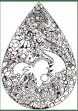 Premier 2 Drops of Beauty free coloring pages for kids