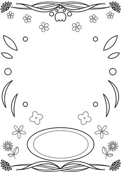 Letter Pattern1 Coloring Pages for kids