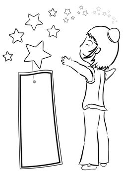 tanabata3 free coloring pages for kids