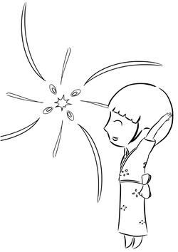 Fireworks2 free coloring pages for kids