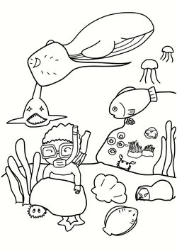 Sea3 free coloring pages for kids