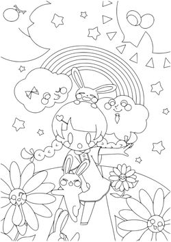 Premium 9 free coloring pages for kids