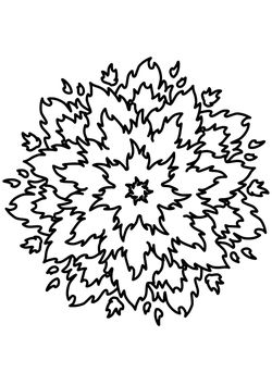 Mandala18 Coloring Pages for kids