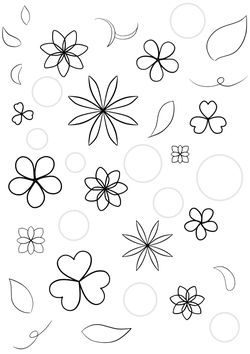 Flower6 free coloring pages for kids