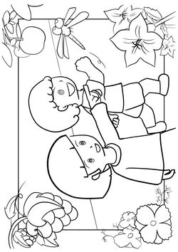 Autum free coloring pages for kids