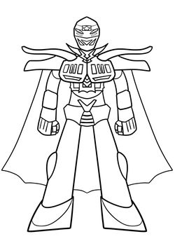 Sinkaizer Coloring Pages for kids