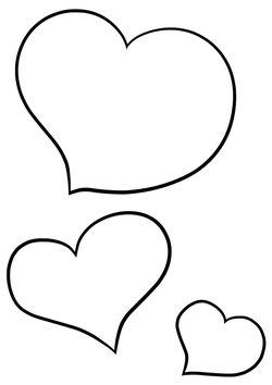 Heart12 free coloring pages for kids