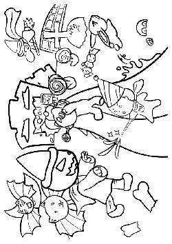 Halloween2 free coloring pages for kids