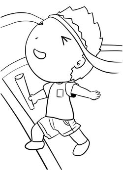 Kakekko free coloring pages for kids