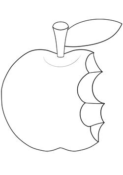 Apple2 free coloring pages for kids