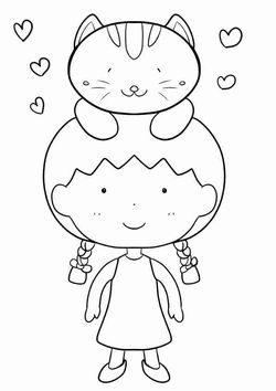 BestFriend free coloring pages for kids