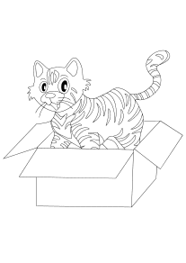 cat-misu33-3 free coloring pages for kids