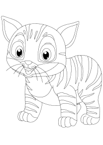 Cat-misu33-1 free coloring pages for kids