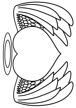 Heart14 free coloring pages for kids