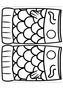 Koinobori6 free coloring pages for kids
