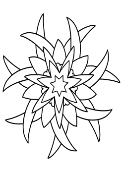 Mandala26 Coloring Pages for kids