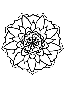 Mandala27 Coloring Pages for kids