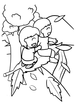 Falls free coloring pages for kids