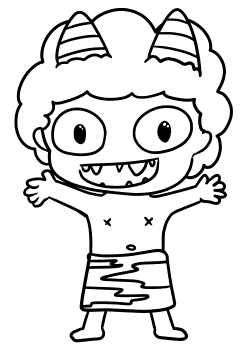 Oni2 free coloring pages for kids