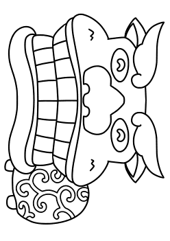 Shishimai free coloring pages for kids