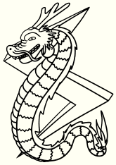 Dragon6 free coloring pages for kids