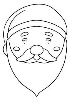 Santaclause9 free coloring pages for kids