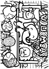 VUMA original free coloring pages for kids