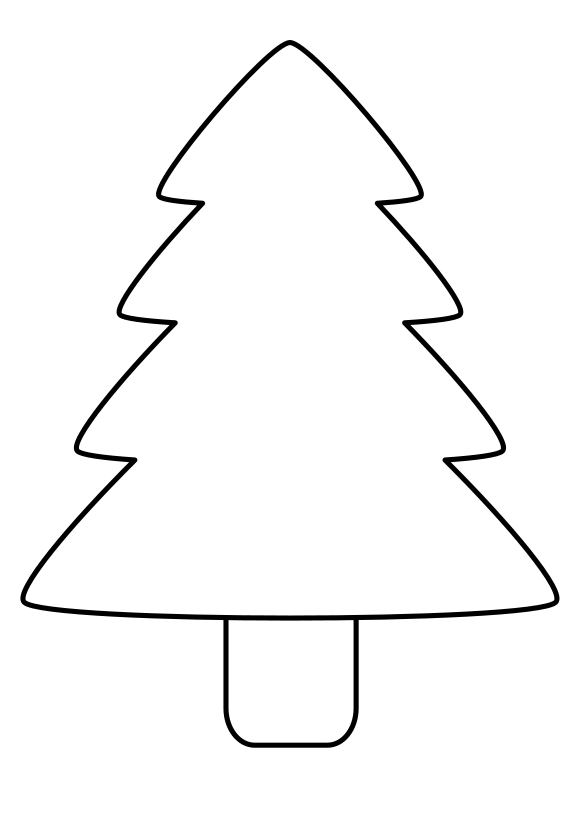 Christmas tree coloring pages - coloring book - #33 Free Printable ... | 819x579